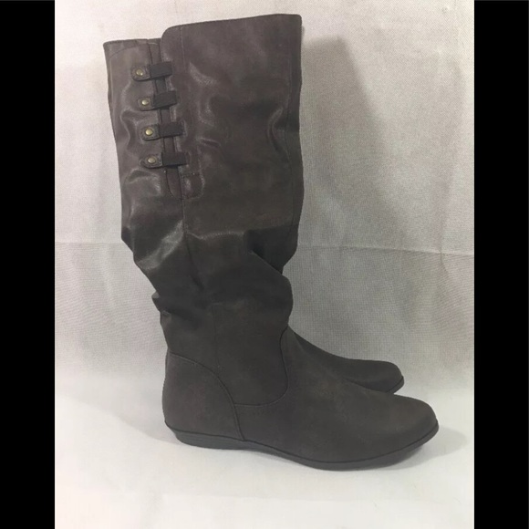 ef98c9bd0ef Mountain Sole Women's Frida Slouch Boots Brown Sz8 Boutique